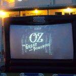 out door movie night