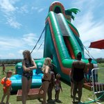 water slide ( one of them )