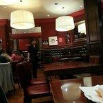 Decoración del restaurant... Un ambiente muy agradable y calido.