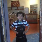 Jacob the little chocolatier!