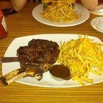 Perfect Rare Steak