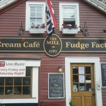 Get the BEST Ice Cream and Fudge here. Sandwiches too!