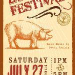 Annual summer barbecue festival