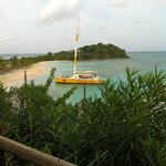 Wadadli Cats Catamaran! Awesome time! View from breakfast spot
