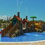 Great water park for the kids and relaxing area for the adults.