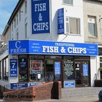 C Fresh Fish and Chips Foto