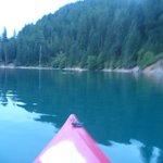 McCloud Lake at Dusk