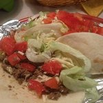 3 soft shell tacos