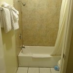 Shower - ask for thicker towels if you see the THIN towels.