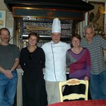 Chef agreed to have a picture taken with us