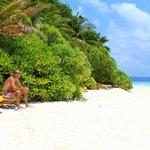 Beach villa - privacy