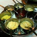 Sauces for Carvoada and Fondue