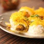 One of our street food Dahi Puri
