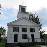 church across the street from homesead
