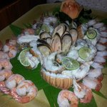 Seafood buffet - again