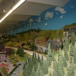Part of the model railway