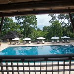 Main Pool from Lobby Lounge