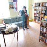 Interior of Slothrop's bookshop