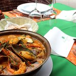Fish & sea food cataplana for 2 pax (w/ rice)