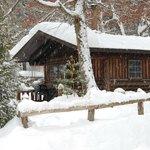 Cabin 1 in Winter