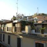 Rooftops from Perla Apartment, Ripetta 25, Rome 2