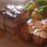 Chicken Brick -sourdough salad, upland cress, turnip, mustard seed