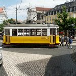 A typical 'Remodelado' Lisbon Tram