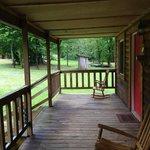 Cosby Coca Cola Cabin - Front Porch