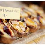 Plum & almond tarts