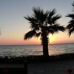 Ladys beach sunset