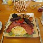 The Gourmet Breakfast!