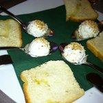 Baccala (cod fish)...delicious!