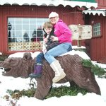 Get your picture on the bear!