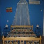 Chambre du gîte Bleu
