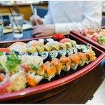 Fresh Sushi Boat