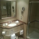 Spotless bathroom, great shower