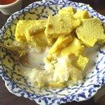 sweet rice egg dish