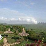 View at the hacienda