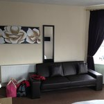 Lovely sofa area in the room