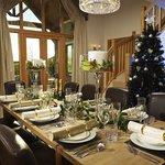 Court Lodge at Christmas