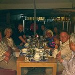 Family Meal In THe Asian Restraunt - Superb