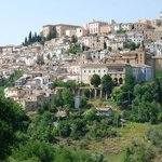 This is the town of Loreto Aprutino. Picture perfect old Italian hilltown.