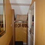 Closet Area and Main Door