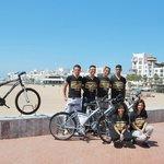 L'équipe Agadir Bike Evasion prête à vous accueillir