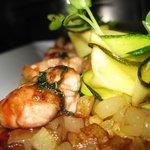 Ris de veau de à la sauge, ananas et ses pépites de pommes de terre