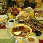 Our homemade breakfast