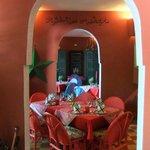 le Fez Café, en intérieur