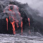 Lava Viewing from lava boat