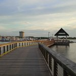 pier to our boat (the marina)