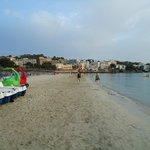 Fag end beach Santa Ponsa